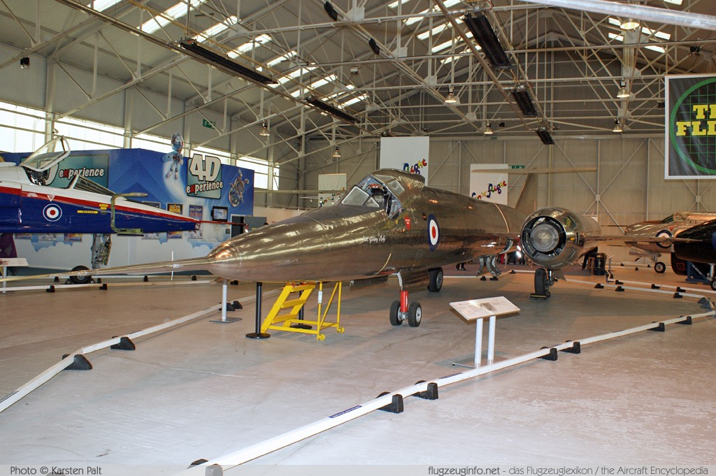 Bristol Type 188 Royal Aircraft Establishment XF926 13519 Royal Air Force Museum Cosford Shifnal, Shropshire 2013-05-17 � Karsten Palt, ID 6668