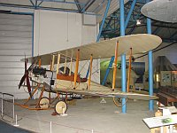 Royal Aircraft Factory BE.2b  687  Royal Air Force Museum London-Hendon 2008-07-16, Photo by: Karsten Palt