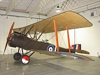 Sopwith 1 1/2 Strutter  A8226  Royal Air Force Museum London-Hendon 2008-07-16, Photo by: Karsten Palt
