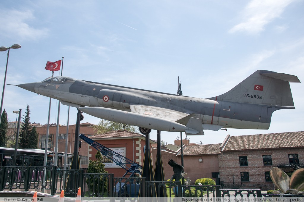 Lockheed (Aeritalia) F-104S Starfighter Turkish Air Force 75-6895 1195 Rahmi M Koc Museum Istanbul 2015-04-18 � Karsten Palt, ID 10765