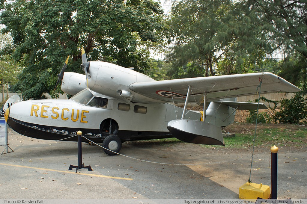 Grumman G-44A Widgeon Royal Thai Air Force (RTAF)  1449 Royal Thai Air Force Museum Bangkok 2013-02-09 � Karsten Palt, ID 6437
