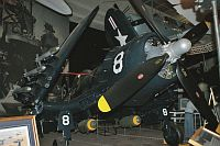 Chance-Vought F4U-7 Corsair United States Marine Corps (USMC) 133704  San Diego Air and Space Museum San Diego, CA 2012-06-14, Photo by: Karsten Palt