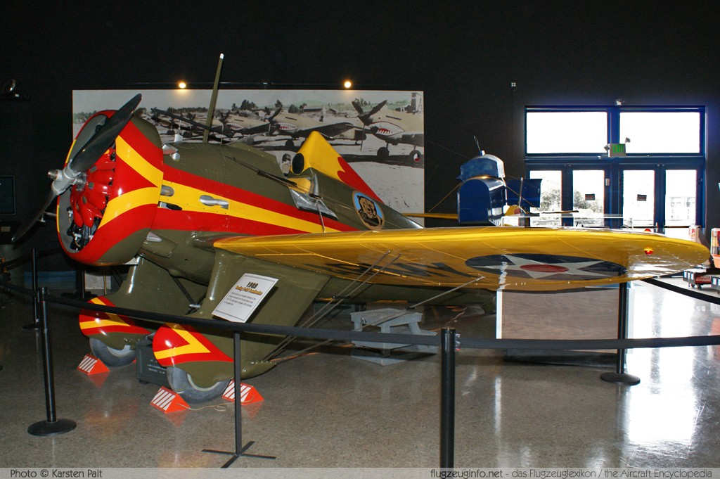 Boeing P-� Peashooter   n/a, Replica San Diego Air and Space Museum San Diego, CA 2012-06-14 锟� Karsten Palt, ID 6172