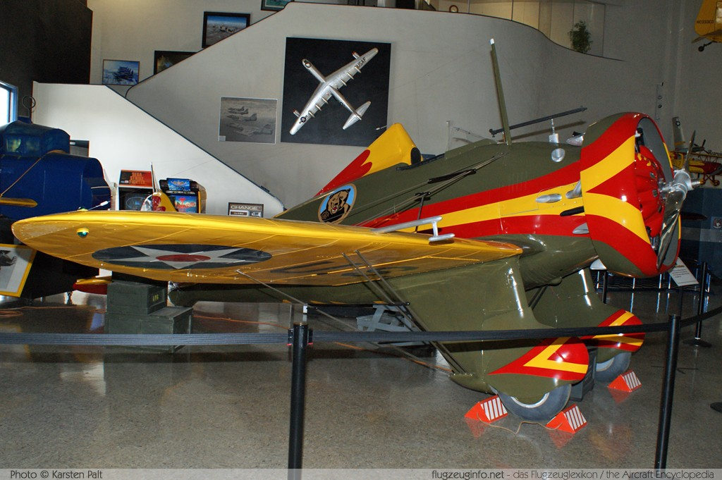 Boeing P-� Peashooter   n/a, Replica San Diego Air and Space Museum San Diego, CA 2012-06-14 锟� Karsten Palt, ID 6173