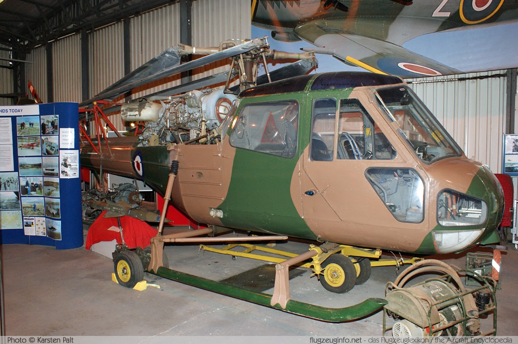 Westland Scout AH.1 Royal Army Air Corps XP190 S2/8443 South Yorkshire Aircraft Museum Doncaster 2013-05-18 � Karsten Palt, ID 7004