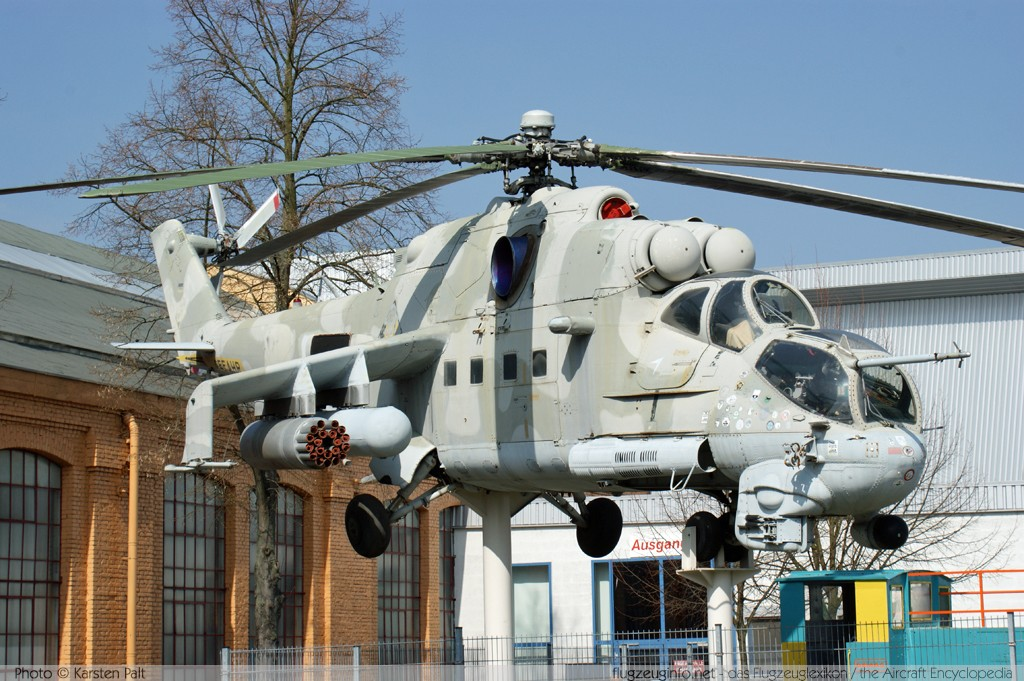 Mil Mi-24P German Air Force / Luftwaffe 98+34 340337 Technik Museum Speyer 2009-04-02 � Karsten Palt, ID 1640