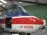 Westland WS-55 Whirlwind Series 3 Bristow Helicopters G-AODA WA113 The Helicopter Museum Weston-super-Mare 2008-07-11, Photo by: Karsten Palt