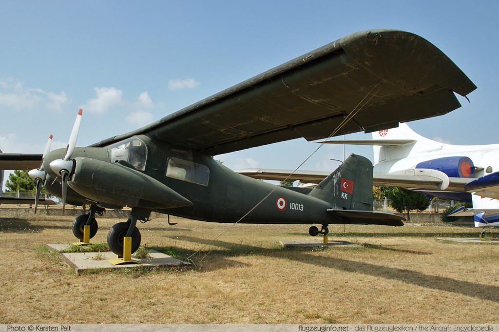 Dornier Do 28B-2 Turkish Army 10013 3083 Turkish Air Force Museum Yesilkoy, Istanbul 2013-08-16 � Karsten Palt, ID 7598
