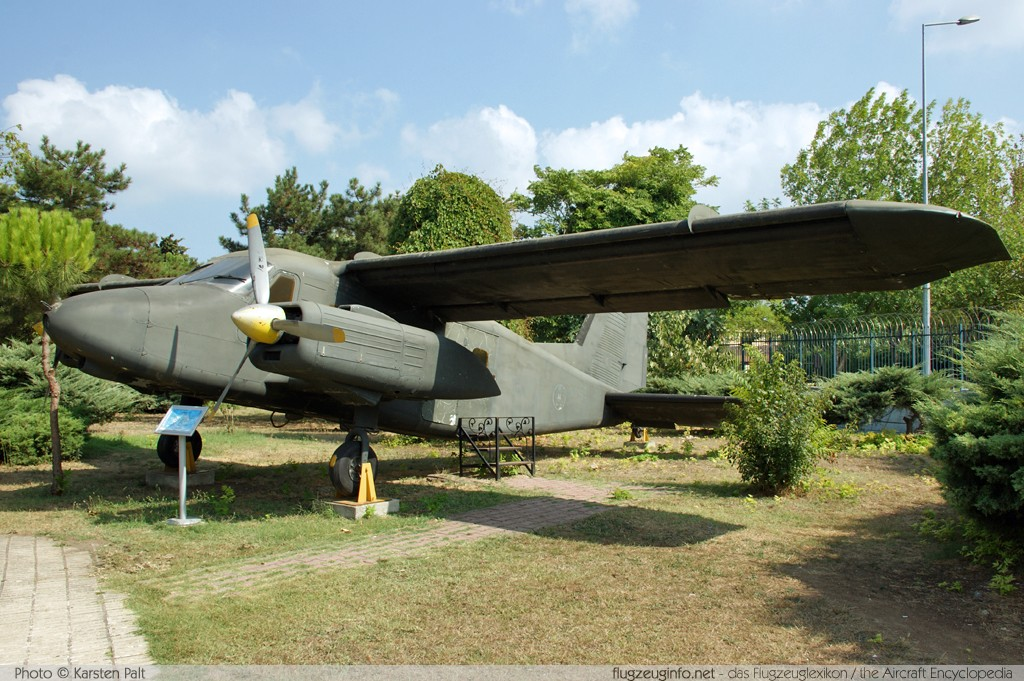 Dornier Do 28D-1 Skyservant Turkish Air Force 10020 4021 Turkish Air Force Museum Yesilkoy, Istanbul 2013-08-16 � Karsten Palt, ID 7600