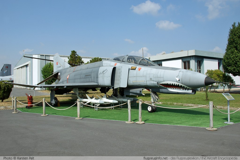 McDonnell F-4E Phantom II Turkish Air Force 67-0360 3234 Turkish Air Force Museum Yesilkoy, Istanbul 2013-08-16 � Karsten Palt, ID 7612
