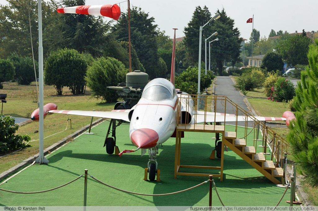 Northrop F-5A (NF-5A) Turkish Air Force 70-3022 3022 Turkish Air Force Museum Yesilkoy, Istanbul 2013-08-16 � Karsten Palt, ID 7616