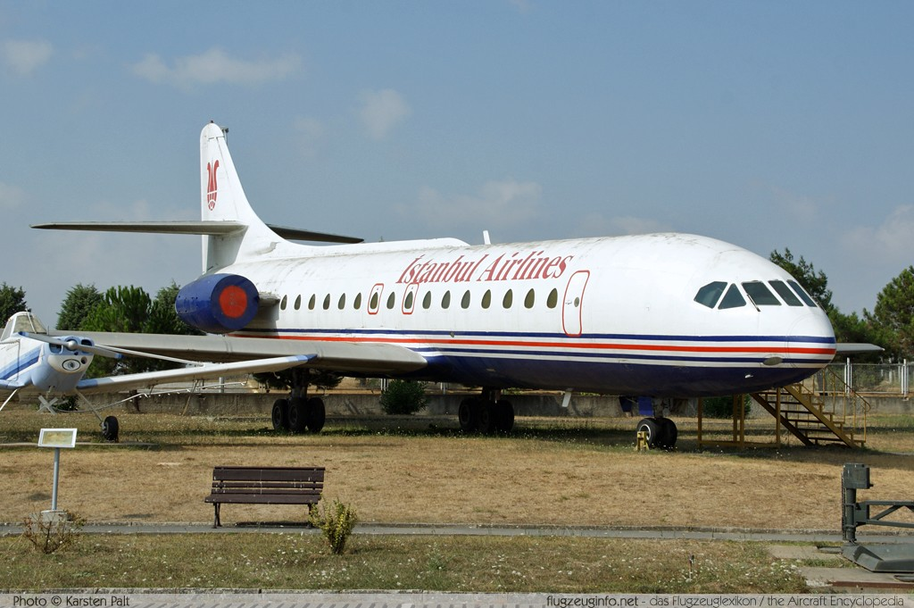 Sud-Est SE.210 Caravelle 10B1R Istanbul Airlines TC-ABA 253 Turkish Air Force Museum Yesilkoy, Istanbul 2013-08-16 � Karsten Palt, ID 7633