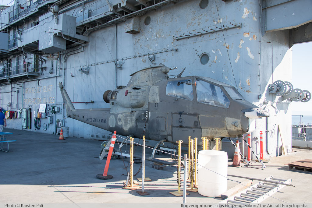 Bell Helicopter AH-1F Cobra United States Army 66-15259 20015 USS Hornet Museum Alameda, CA 2016-10-09 � Karsten Palt, ID 13142