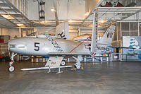 North American FJ-2 Fury United States Navy 132057 181-132 USS Hornet Museum Alameda, CA 2016-10-09, Photo by: Karsten Palt