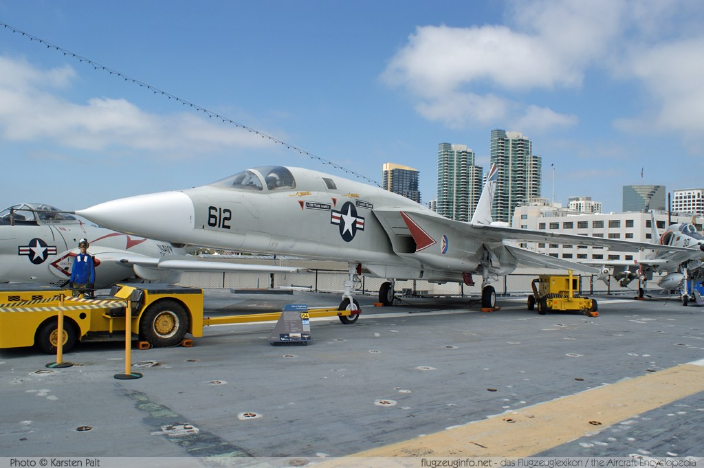 North American RA-5C Vigilante United States Navy 156641 316-34 USS Midway Aircraft Carrier Museum San Diego, CA 2012-06-13 � Karsten Palt, ID 6221