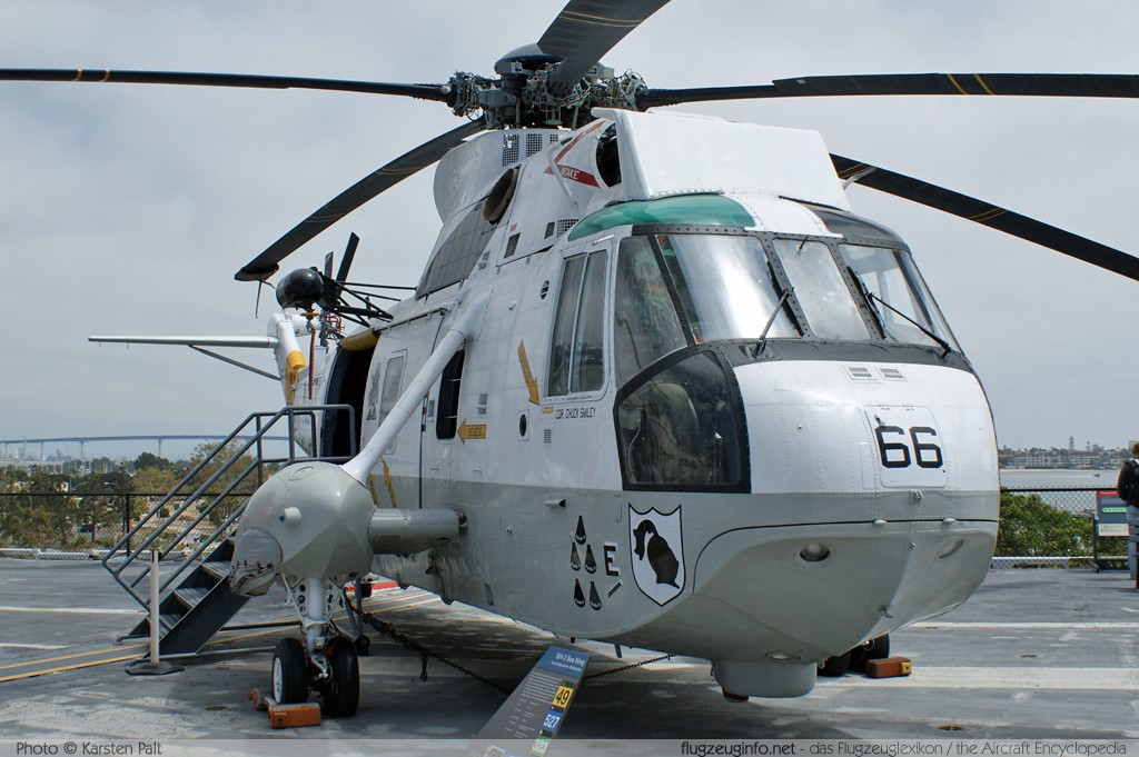 Sikorsky SH-3H Sea King (S-61B), United States Navy ...
