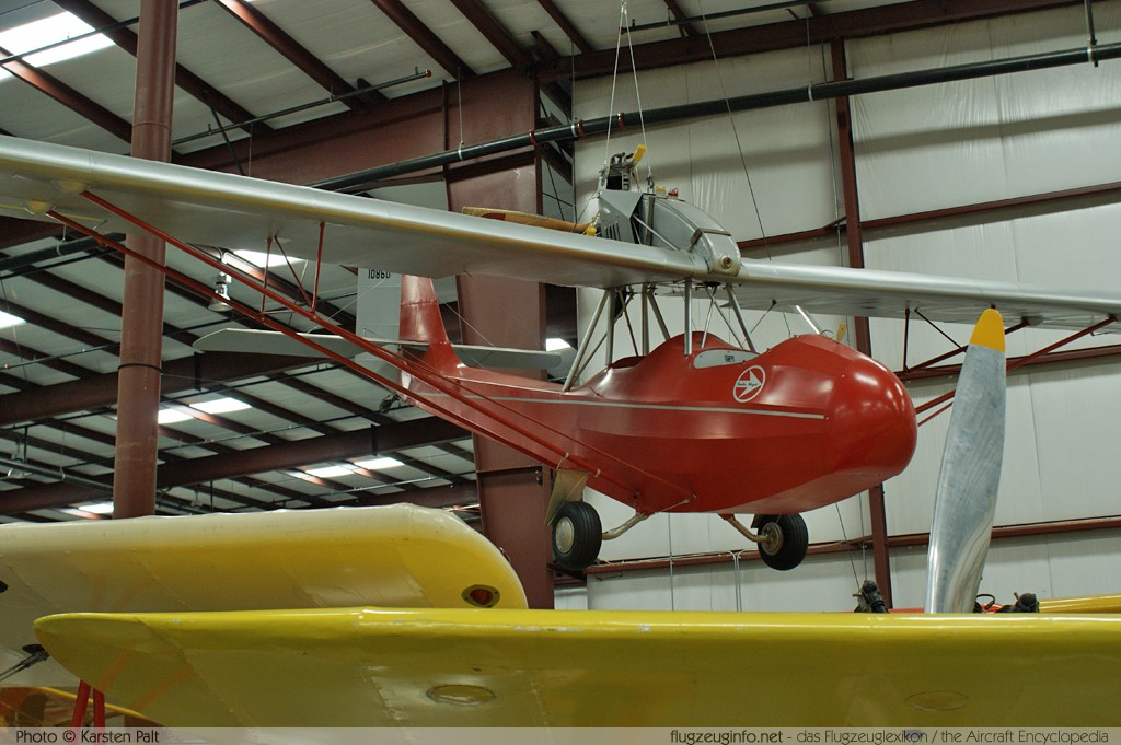 Curtiss-Wright CW-1 Junior  NC10860 1086 Yanks Air Museum Chino, CA 2012-06-12 � Karsten Palt, ID 6278