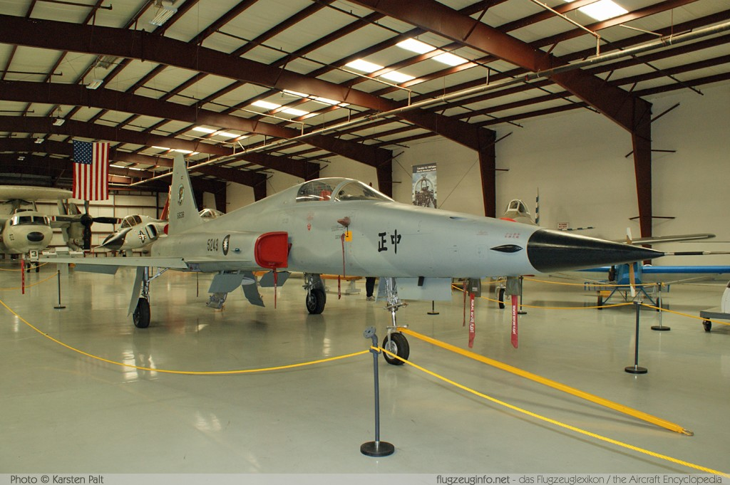 Northrop F-5E Republic of China Air Force (Taiwan) 5243 V1143 Yanks Air Museum Chino, CA 2012-06-12 � Karsten Palt, ID 6282