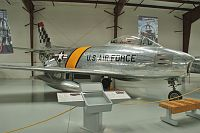 North American / Canadair F-86E (CL-13B) Sabre 6  N3842H 1472 Yanks Air Museum Chino, CA 2012-06-12, Photo by: Karsten Palt