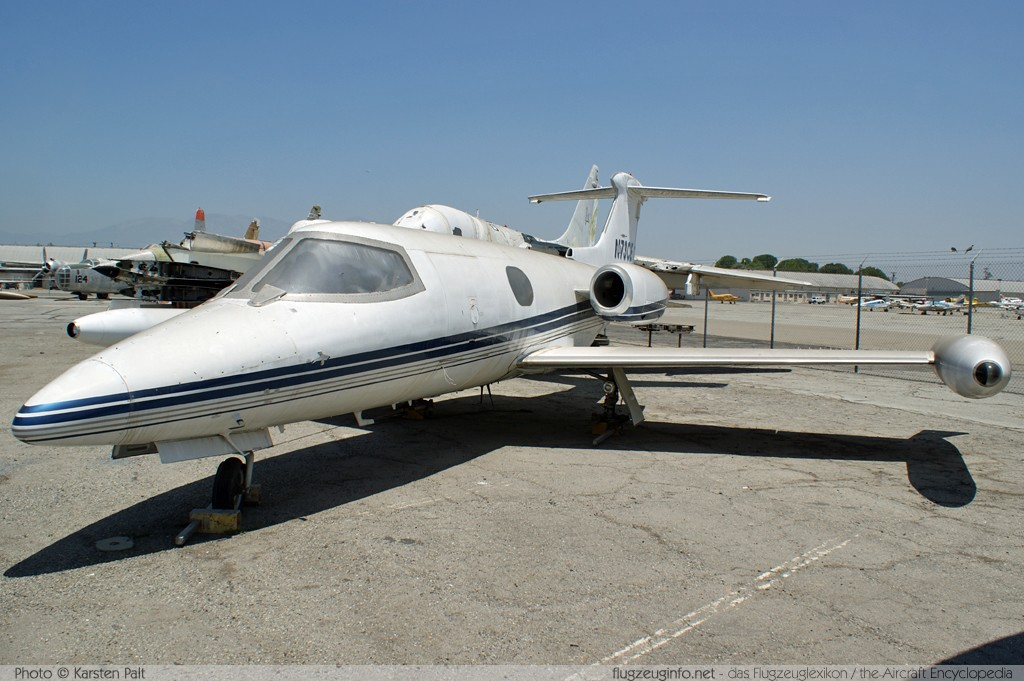 Learjet 23  N73CE 23068 Yanks Air Museum Chino, CA 2012-06-12 � Karsten Palt, ID 6308
