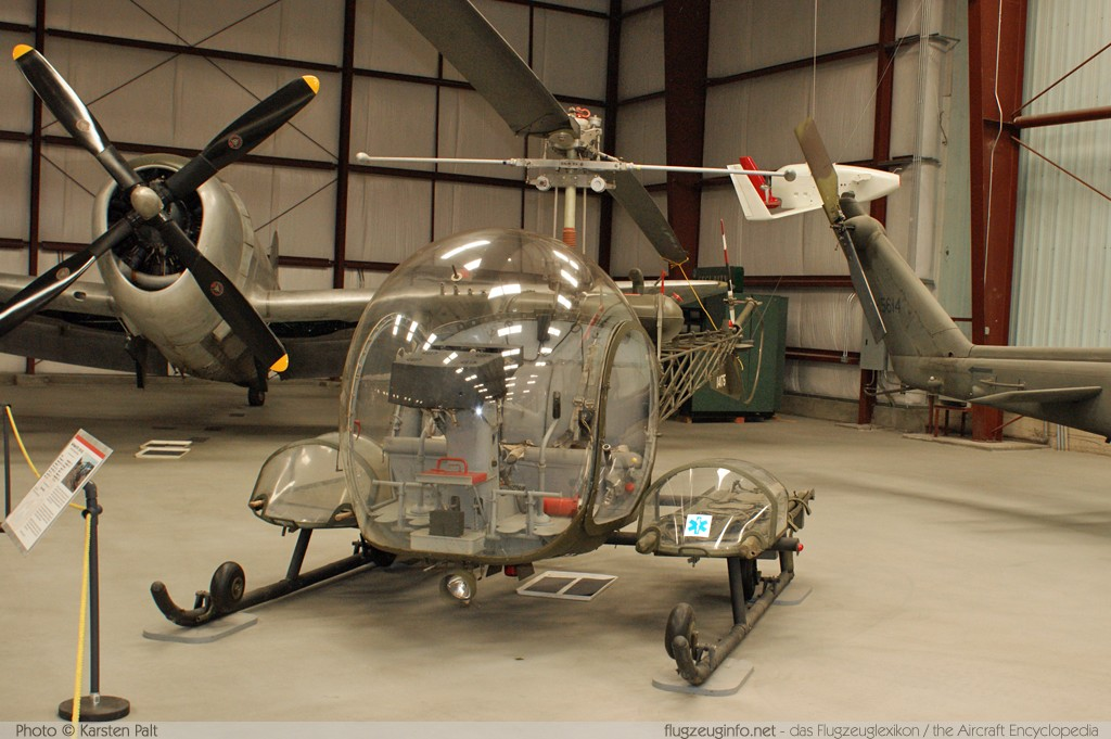 Bell Helicopter OH-13E Sioux (47D-1)  N55230 940 Yanks Air Museum Chino, CA 2012-06-12 � Karsten Palt, ID 6317