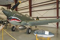 Curtiss P-40E Warhawk  N40245 15208 Yanks Air Museum Chino, CA 2012-06-12, Photo by: Karsten Palt