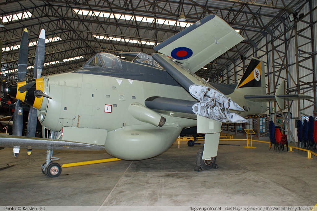 Fairey Gannet AEW.3 Royal Navy XL502 F.9461 Yorkshire Air Museum Elvington 2013-05-18 � Karsten Palt, ID 7029