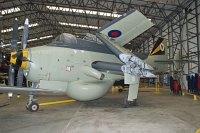 Fairey Gannet AEW.3 Royal Navy XL502 F.9461 Yorkshire Air Museum Elvington 2013-05-18, Photo by: Karsten Palt