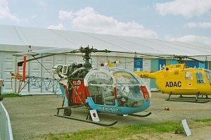 Aerospatiale / Sud-Aviation Alouette II © Karsten Palt
