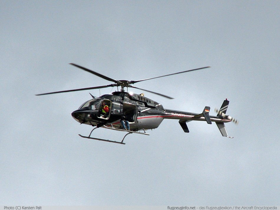 Bell Helicopter Bell 407 Specifications Technical Data