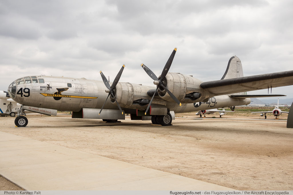 Boeing B-29 Superfortress (Model 345) - Specifications - Technical ...