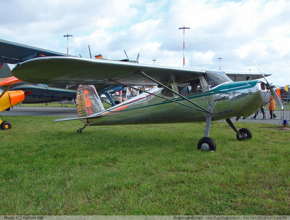 Cessna 120 Amp 140 Specifications Technical Data