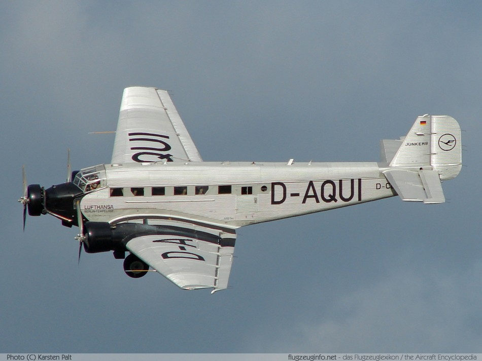 Junkers Ju 52 3m Specifications Technical Data