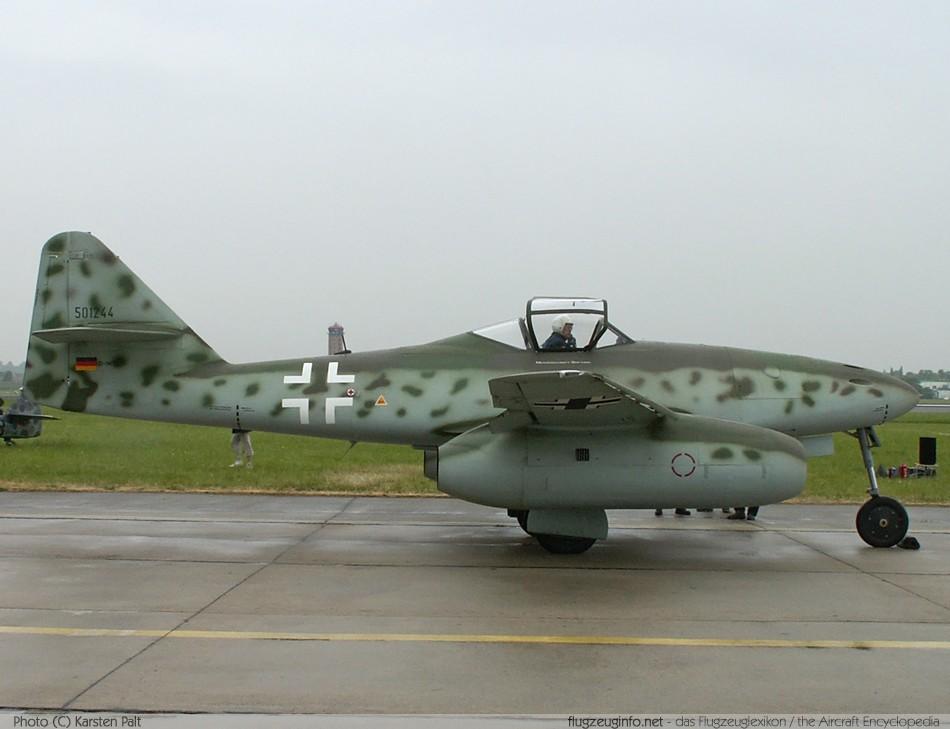 Messerschmitt Me 262 Specifications Technical Data