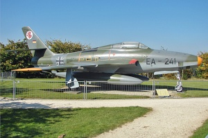 Republic RF-84F Thunderflash, German Air Force / Luftwaffe, EB+341, c/n 52-7377 © Karsten Palt