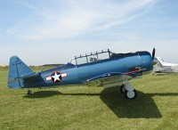 North American T-6 / AT-6D (SNJ-5), , N3173N, c/n 42-84314,© Karsten Palt, 2007
