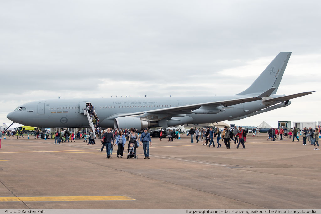 Airbus KC-30A (A330-200MRTT) Royal Australian Air Force (RAAF) A39-001 747/MRTT001 Royal International Air Tattoo 2016 RAF Fairford (EGVA / FFD) 2016-07-09 � Karsten Palt, ID 12747