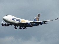 Boeing 747-47UF/SCD Atlas Air N418MC 32840 / 1319  Frankfurt am Main (EDDF / FRA) 2007-09-09, Photo by: Karsten Palt
