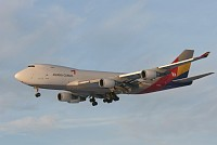 Boeing 747-48EF Asiana Cargo HL7436 29170 / 1305  Brussel/Bruxelles - Brussels Airport (EBBR / BRU) 2009-01-11, Photo by: Mike Vallentin