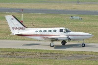 Cessna 414A Chancellor  PH-SWN 414A-0420  Friedrichshafen (EDNY / FDH) 2009-04-03, Photo by: Karsten Palt