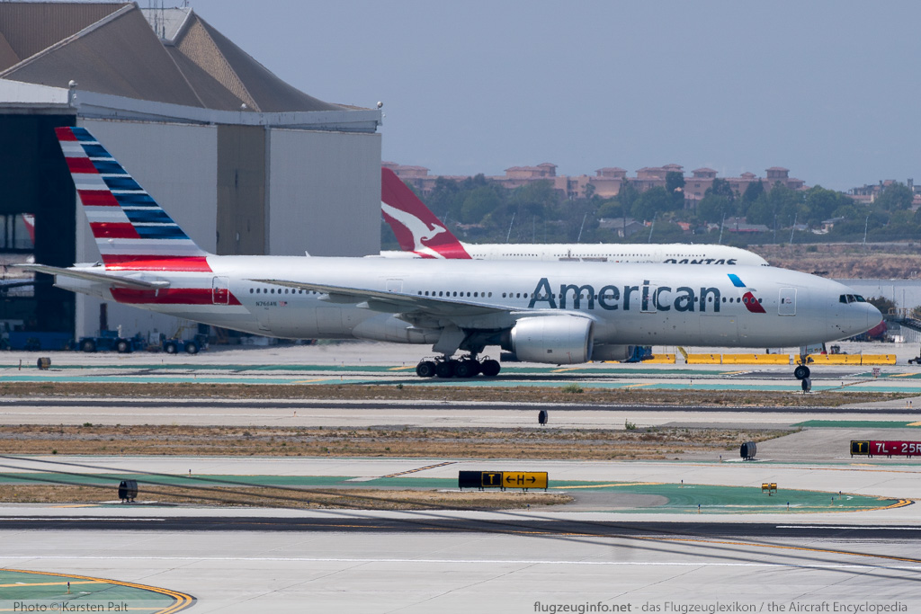 Boeing 777-223ER American Airlines N766AN 32880 / 445  LAX International Airport (KLAX / LAX) 2015-06-01 � Karsten Palt, ID 11480