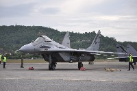 Mikoyan MiG-29N Royal Malaysian Air Force M43-10 36598/5305 LIMA 2009 Pulau Langkawi - International (WMKL / LGK) 2009-12-01, Photo by: Hartmut Ehlers