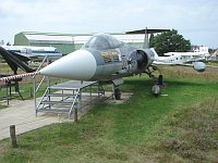 Lockheed  F-104G Starfighter German Navy / Marine 22+98 7181 Aeronauticum Nordholz 2006-08-26, Photo by: Karsten Palt