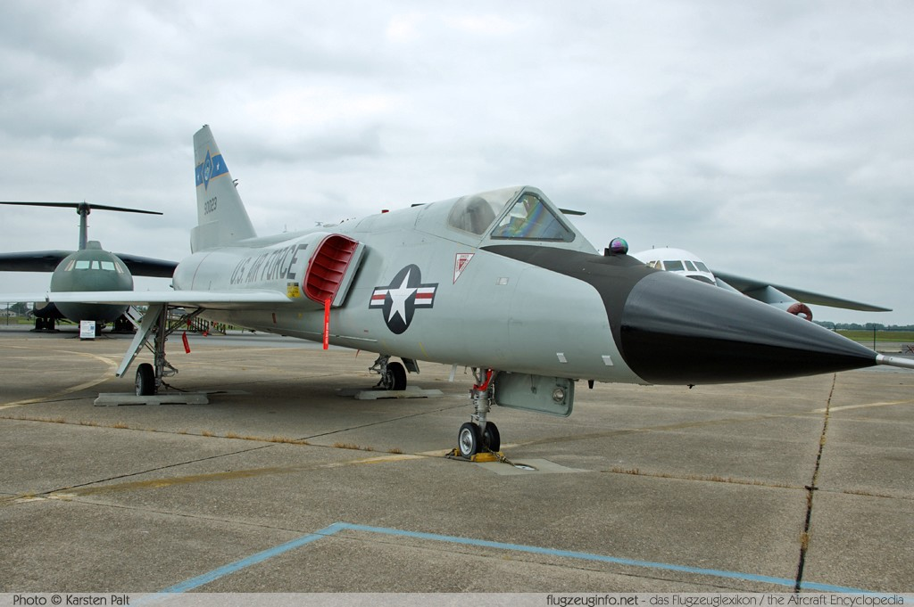 Convair F-�6A Delta Dart United States Air Force (USAF) 59-0023 8-24-152 Air Mobility Command Museum Dover AFB, DE 2014-05-30 锟� Karsten Palt, ID 10076