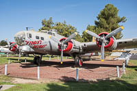 Boeing B-17G Flying Fortress (299P) United States Army Air Forces (USAAF) 43-38635 9613 Castle Air Museum Atwater, CA 2016-10-10, Photo by: Karsten Palt