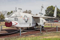 Chance-Vought RF-8G Crusader United States Navy 145607  Castle Air Museum Atwater, CA 2016-10-10, Photo by: Karsten Palt