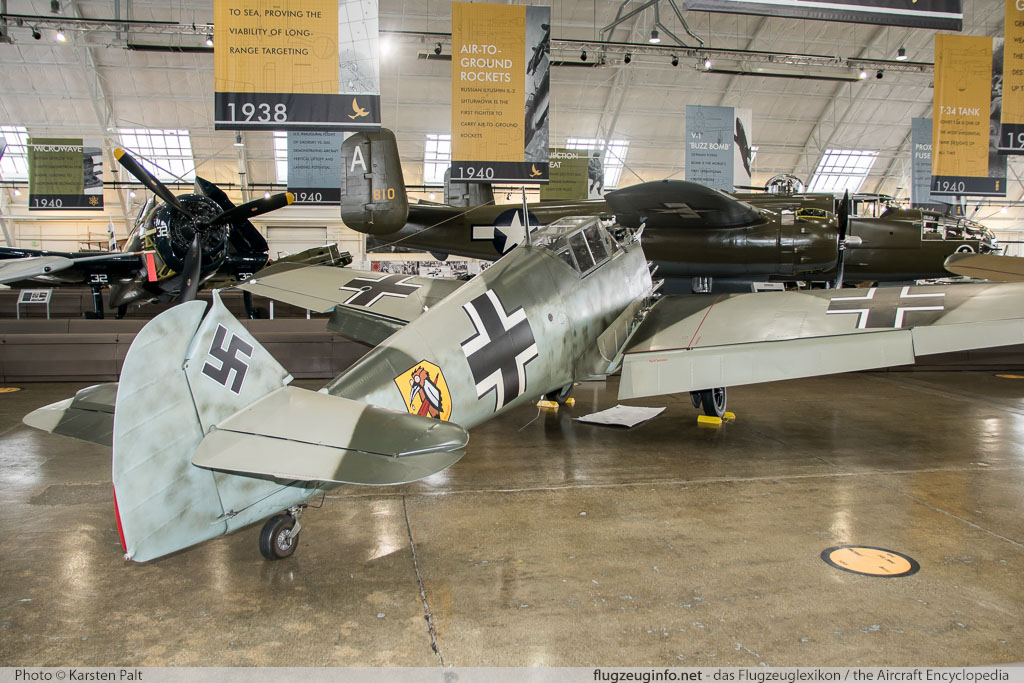 Messerschmitt Bf 109E-3 Flying Heritage Collection NX342FH 1342 Flying Heritage Collection Everett, WA 2016-04-12 � Karsten Palt, ID 12366