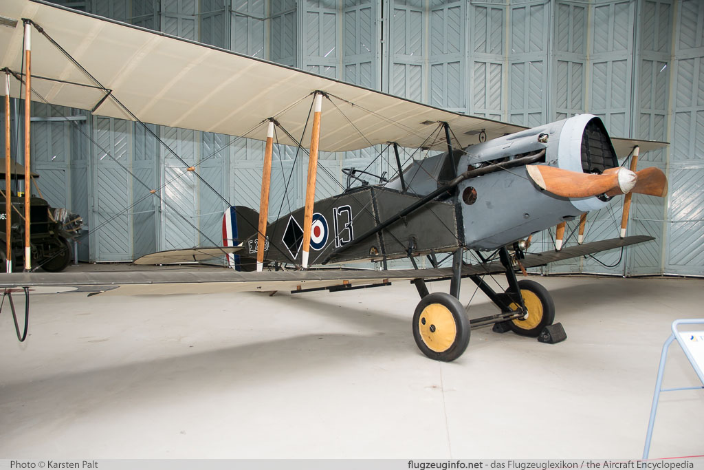 Bristol F.2B Fighter Royal Air Force E2581  Imperial War Museum Duxford Aerodrome (EGSU / QFO) 2016-07-10 � Karsten Palt, ID 13082