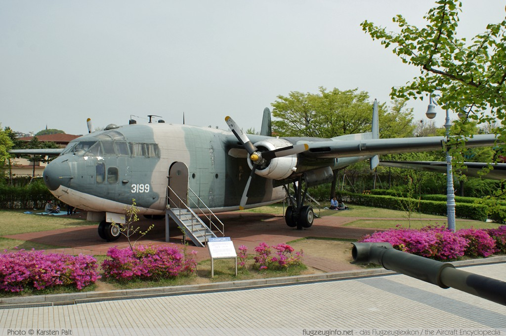 Fairchild C-119G Flying Boxcar Republic of China Air Force (Taiwan) 3199 10739 The War Memorial of Korea Seoul 2012-04-29 � Karsten Palt, ID 5571