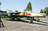 Mikoyan Gurevich MiG-23BN Czech Air Force 9825 0393219825 Letecke Muzeum Kbely Prague 2014-06-08, Photo by: Karsten Palt
